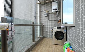 广州星晨时代豪庭阳台照片_星晨时代豪庭 13楼南向园景 装修保养好
