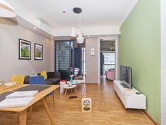 泛海城市广场 2室1厅1厨1卫 58.8m² 整租出租房效果图