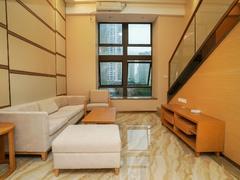 珠光新城国际中心 东南向两房两厅两卫光线充足