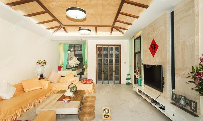 深圳圣莫丽斯照片_圣莫丽斯 直降500万,复式洋房,带100平大花园,豪装安静