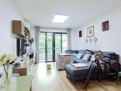 山水情家园 2室2厅1厨1卫 78.02m² 精致装修二手房效果图