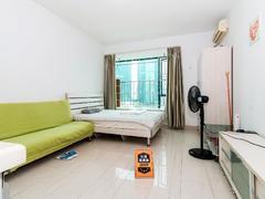 鸿翔花园 1室0厅1厨1卫 34.77m² 精致装修二手房效果图