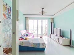 蔚蓝海岸二期 3房改两房 少有好户型放卖 朝南 高层看花园