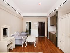 万达广场 1室1厅1厨1卫 45.56m² 整租租房效果图