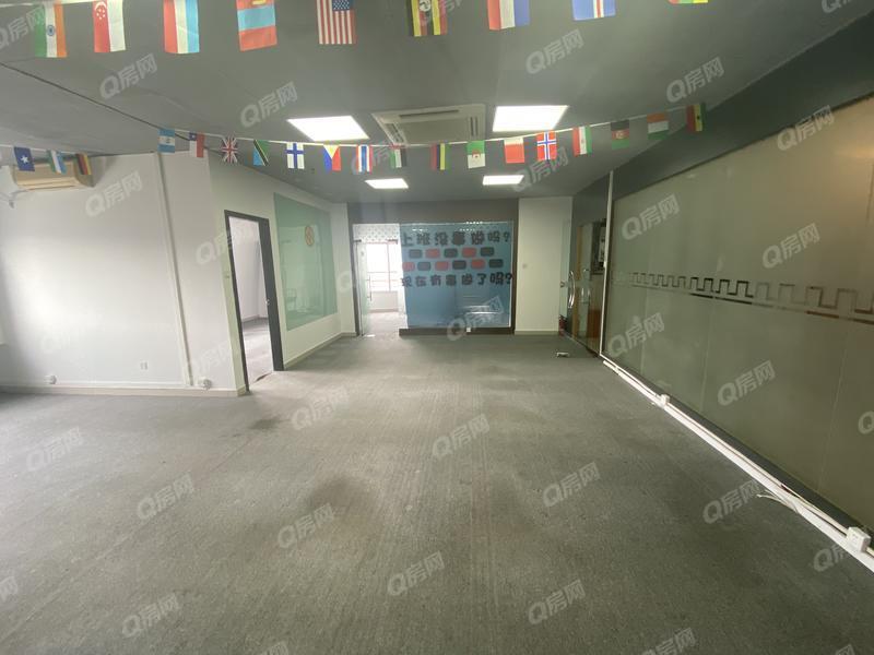 文华大厦 黄贝岭地铁、整层写字楼出售、满五年了,税少