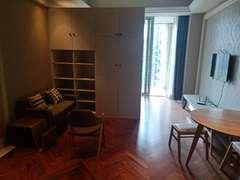 蓝色钱江 1室1厅1厨1卫 96.9m² 精致装修二手房效果图