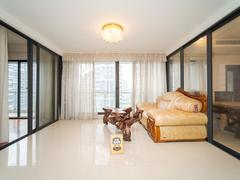 中信红树湾 清新 典雅 中式风 大落地窗 居家5房 安静舒适租房效果图
