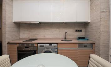 广州财富世纪广场厨房照片_财富世纪广场 精装一房一厅 自住办公皆可 等待优秀的你