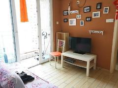 皇庭世纪 精装一房一厅家私齐全整租租房效果图