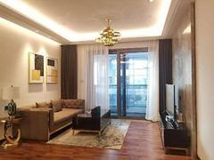卓越前海壹号 高品质公寓 豪华装修 随时入住 繁华路段 看房随时出租房效果图