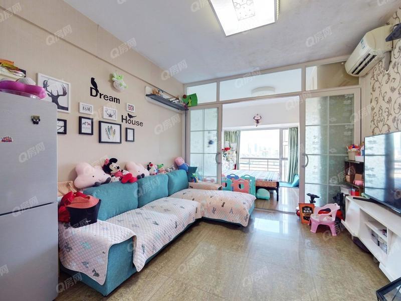 新一代国际公寓 改好的两房 实用面积50平 北师大附中