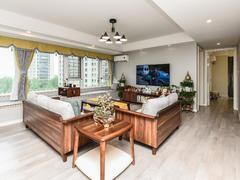 铁建万科江湾城 3室2厅1厨2卫 115.0m² 精致装修二手房效果图