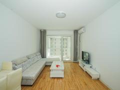 鑫江水青花都 2室2厅1厨1卫 90.71m² 精致装修二手房效果图