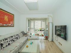 鑫江水青花都 2室2厅0厨1卫 90.0m² 精致装修二手房效果图