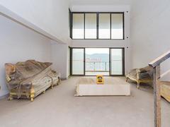 星河丹堤 湖景大复式 客厅6米中空挑高 可拓展面积大二手房效果图