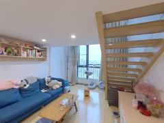 奥园峯荟 2室1厅1厨1卫40.63m²整租租房效果图